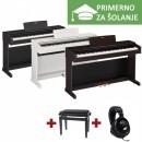 ŠOLSKI KOMPLET - Električni klavir Yamaha ARIUS YDP-143 R + KLOP + SLUŠALKE YAMAHA