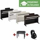 ŠOLSKI KOMPLET - Električni klavir Yamaha ARIUS YDP-163 + KLOP + SLUŠALKE YAMAHA