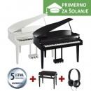 ŠOLSKI KOMPLET - Električni klavir Yamaha Clavinova CLP-665 PE + KLOP + SLUŠALKE YAMAHA